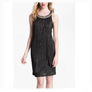 Donna Ricco Metallic Dress